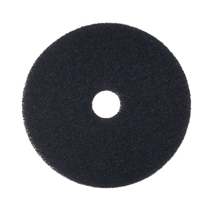 "Picture of 16"" BLACK ECONOMY STRIPPING FLOOR PAD- CASE OF 5"